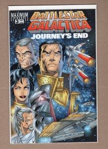 Battlestar Galactica: Journey's End #3 (1996)