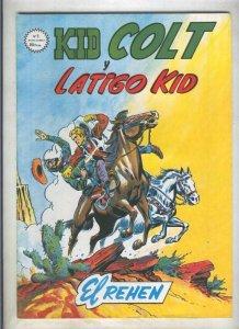 Kid Colt numero 05: El rehen (numerado 1 en trasera)