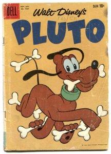 Walt Disney's Pluto- Four Color Comics #1039 G-