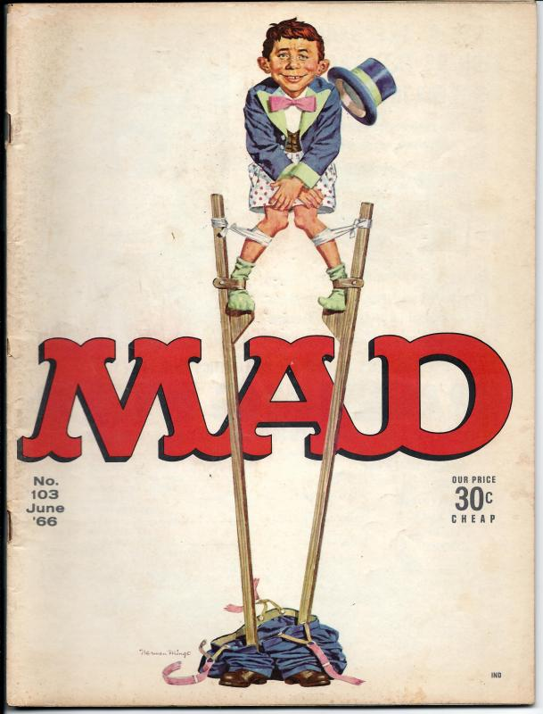 Mad No. 103, , June, 1966 (VG)