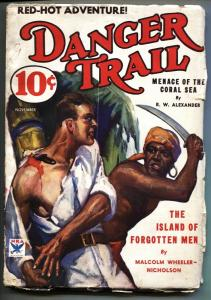 Danger Trail #1 Nov 1933 Dell adventure Pulp first issue
