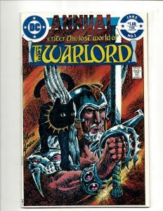 12 Warlord DC Comics Annual # 1 2 3 4 5 6 + 1 2 3 4 5 6 GK22