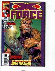 14 X-Force Comics # 76 77 78 79 80 81 82 84 97 102 105 106 Youngblood Cable JD4