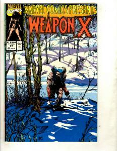 10 Weapon X Marvel Comics # 77 78 79 80 (2) 81 82 83 84 (2)  EK4