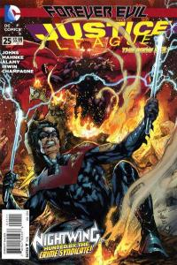 Justice League (2011 series) #25, NM + (Stock photo)