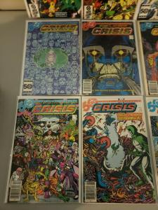 Crisis on Infinite Earths 1-12 Whole run. Near Mint. Death of Barry Allen.