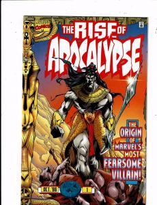 Lot Of 3 The Rise Of Apocalypse Marvel Comic Books # 1 2 3 X-Men Wolverine J239