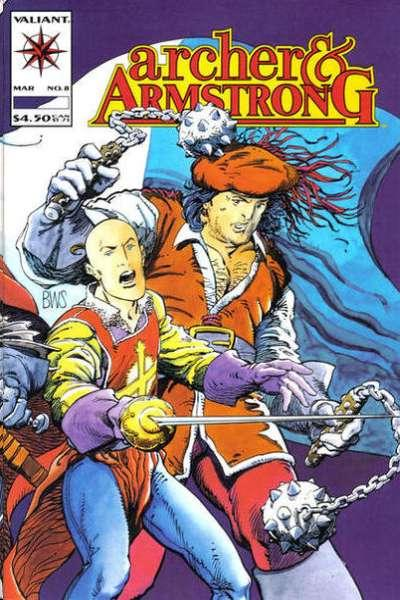 Archer & Armstrong (1992 series) #8, VF (Stock photo)