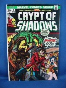 Crypt of Shadows #2 (Mar 1973, Marvel) F VF