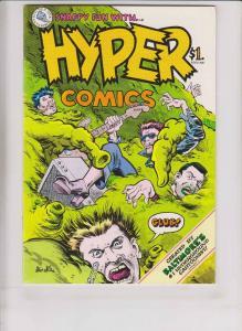 Hyper Comics #1 VF/NM (1st) kitchen sink STEVE STILES underground comix print