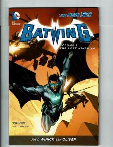 Batwing Volume 1 The Lost Kingdom DC New 52 Comics Graphic Novel TPB Batman J121