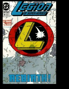 12 Legion Of Super-Heroes DC Comics #12 13 14 15 16 17 18 19 20 21 22 23 GK33