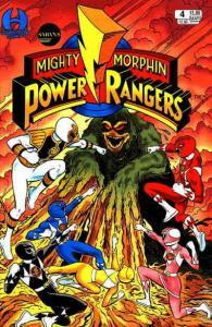Mighty Morphin Power Rangers (Saban's…, 1st Series) #4 VF/NM; Hamilton | save on