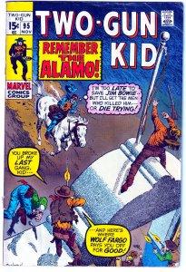 Two Gun Kid # 95  OK Corral to the Alamo !