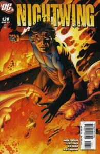 Nightwing #128 VF/NM; DC | save on shipping - details inside