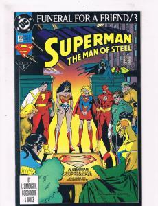 Superman The Man Of Steel #20 VF/NM 1st Print DC Comic Book Flash DE2