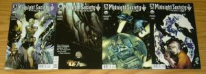 Midnight Society: the Black Lake #1-4 VF complete series - dark horse comics