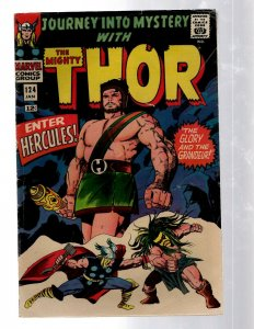 Journey Into Mystery # 124 VF- Marvel Comic Book Thor Loki Odin Asgard Sif RB8