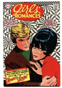 GIRLS' ROMANCES #126-D.C. ROMANCE-Psychedelic cover VF/NM