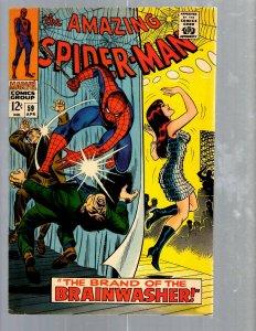 Amazing Spider-Man # 59 VF/NM Marvel Comic Book MJ Vulture Goblin Scorpion TJ1