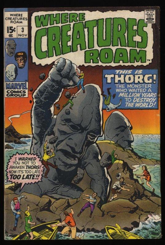 Where Creatures Roam #3 VG 4.0
