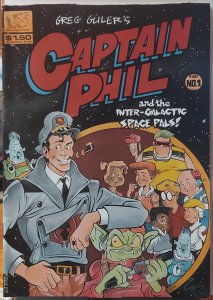 Captain Phil and the Intergalactic Space Pals #1 (1994)