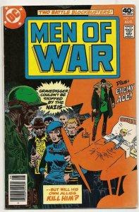 MEN OF WAR #19, VG+, Gravedigger, Enemy Ace, DC, 1977 1979 more DC in store