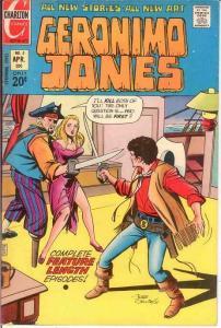 GERONIMO JONES 5 VF-NM   April 1972 COMICS BOOK