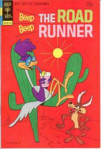 BEEP BEEP THE ROAD RUNNER (GK) 39 VG-F October 1973 COMICS BOOK