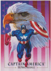 1992 Marvel Masterpieces Promo Card