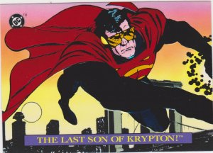 1993 Bloodlines Promo Card #P3 Last Son of Krypton