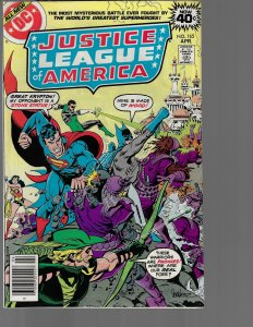 Justice League of America #165 (DC, 1979) NM