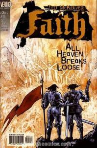 Faith (1999 series) #3, VF+ (Stock photo)