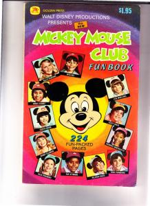 Mickey Mouse Club Funbook #1 (Jan-77) NM- High-Grade Mickey Mouse