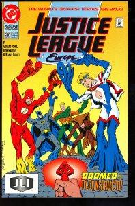 Justice League Europe #37 (1992)