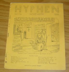 Hyphen #15 VG november 1955 - damon knight - chuck harris - irish sci fi fanzine