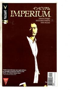 Imperium # 2 NM 1st Print Valiant Comic Book COVER C Variant Cover Dysart MK3