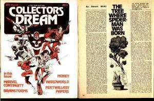 COLLECTORS DREAM 3 MARVEL CONTINUITY! 1977