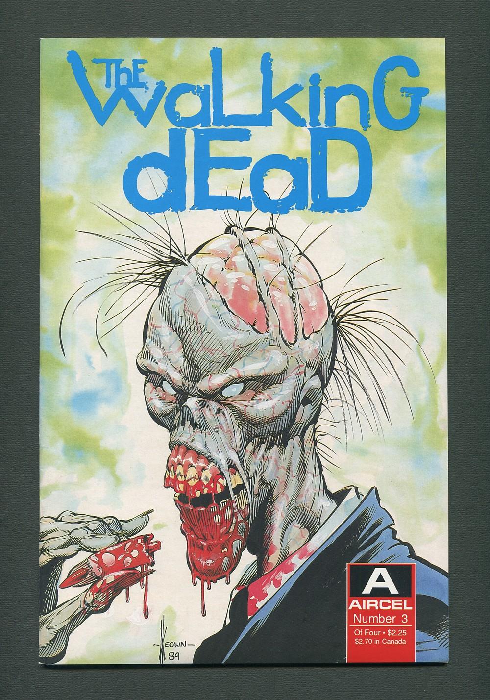 WALKING DEAD #2 1ST PRINT//AIRCEL COMICS//J.W SOMERVILLE//1989 Mini-Series! 9.2-
