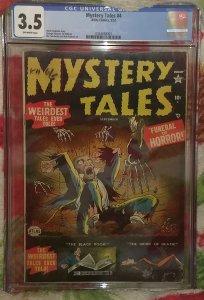 Mystery Tales #4 (1952) CGC 3.5