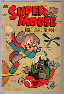 Super Mouse #23 1953-sci-fi cover-flying saucer-VF
