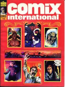 COMIX INTERNATIONAL #4, VF, Richard Corben, 1976, Warren, more Magazine in store