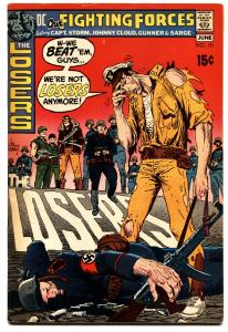 OUR FIGHTING FORCES #131 1971-DC-THE LOSERS-CAPT STORM-JOE KUBERT.