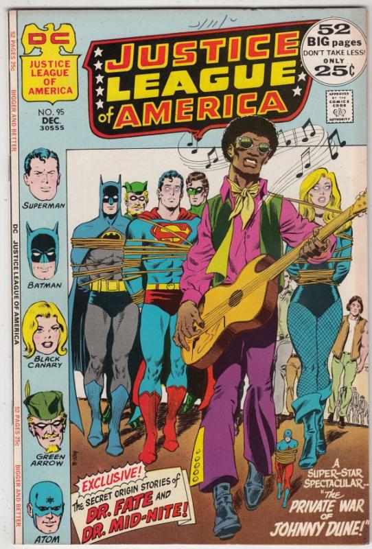 Justice League of America #95 (Dec-71) VF/NM+ High-Grade Justice League of Am...