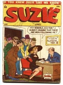 SUZIE #58 GGA issue-comic book Archie 1947