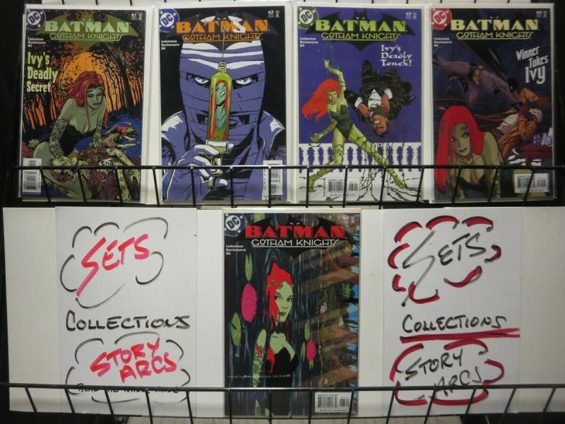 BATMAN GOTHAM KNIGHTS (2000) 61-65  Ivy's Quest