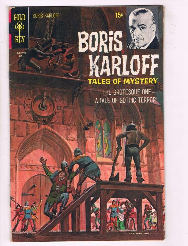 Boris Karloff Tales Of Mystery #30 VG/FN 1970 Gold Key Comic Book Bronze Age J57
