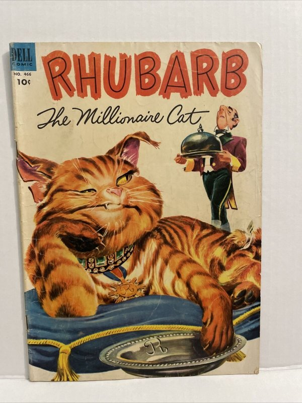 Rhubarb The Millionaire Cat #466