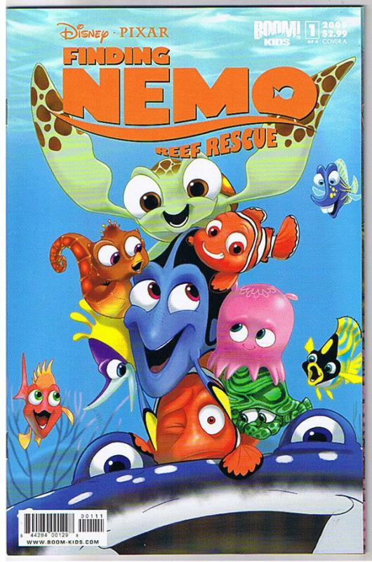FINDING NEMO REEF RESCUE #1 A, NM, Disney, Pixar, 2009, Fish, more in store