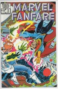 MARVEL FANFARE #5, NM, Dr. Strange, Claremont, Russell,1982 more Marvel in store